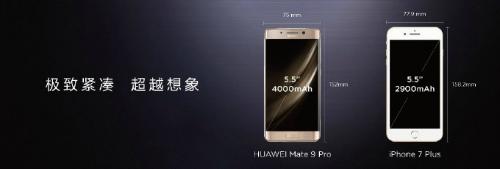 Huawei trình làng Mate 9 Pro màn hình cong 2K - 1