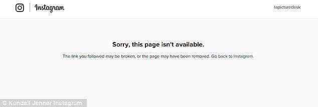 """Fan """"sốc"""" vì Kendall Jenner xóa Instagram bạc tỷ của mình - 2"""