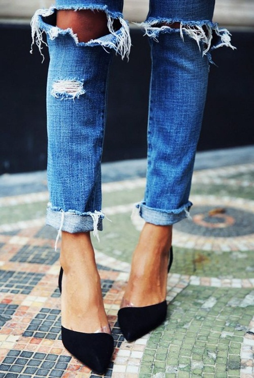 Mặc jeans đi làm, phải nhớ những điều sau - 4