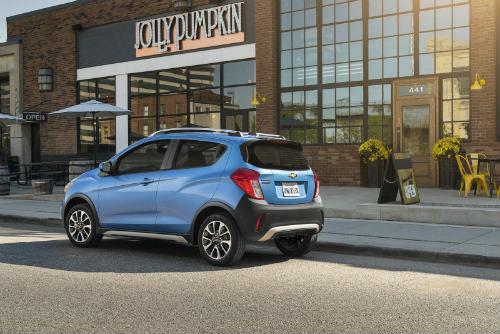 2017 Chevy Spark ACTIV giá 378,7 triệu đồng sắp lên kệ - 2