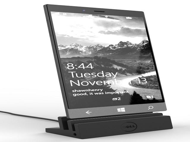 Rò rỉ ảnh tuyệt đẹp chiếc phablet Dell Stack Windows 10 - 1