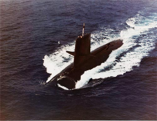 Bí ẩn tàu ngầm hạt nhân Mỹ do thám Liên Xô không trở về - 1