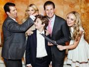 Bạn trẻ - Cuộc sống - Donald Trump dạy con không hư hỏng dù sống nhung lụa