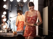 Thời trang - Kendall Jenner hé lộ hình ảnh hậu trường chụp nội y gợi cảm