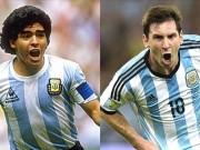Huyền thoại bỏ CLB tên tuổi ở tuổi 31: Từ Maradona đến Messi