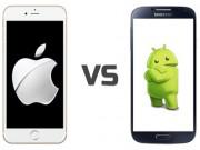 Công nghệ thông tin - iOS vẫn được yêu thích nhiều hơn Android