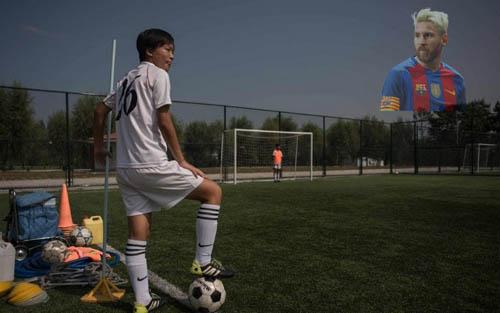 Triều Tiên đào tạo siêu cầu thủ giỏi hơn cả Messi - 1