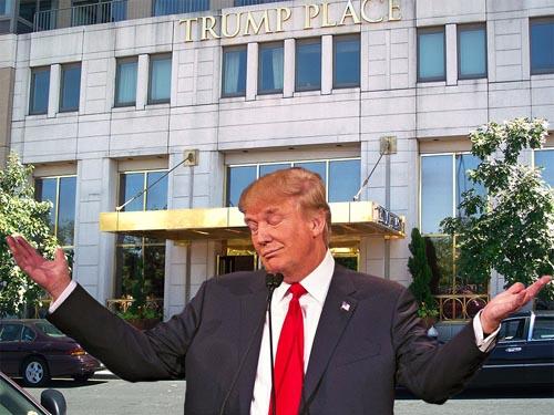 Tổng thống Mỹ đắc cử Trump bị xóa tên khỏi 3 tòa nhà - 1