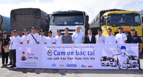 Ngày hội chăm sóc bác tài lần đầu tiên tại Việt Nam - 3