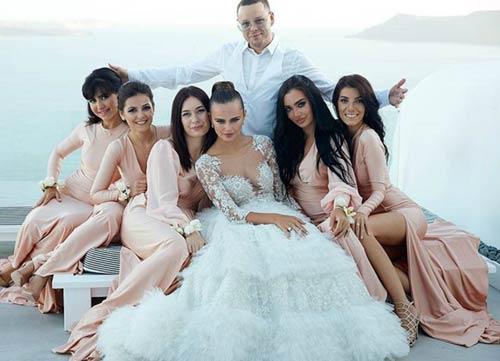 Đám cưới triệu đô của mỹ nữ Đông Âu và đại gia 63 tuổi - 5