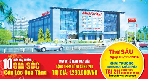 MediaMart khai trương siêu thị điện máy thứ 29 tại Hà Nội - 1