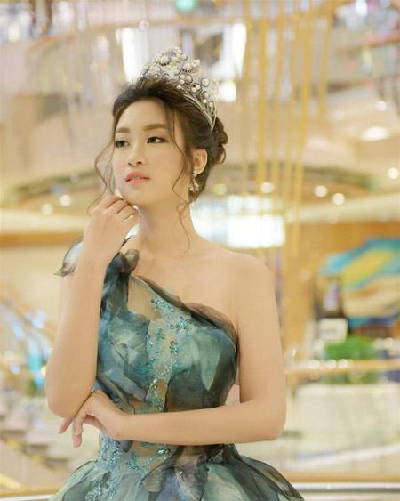 """""""Thần tiên tỷ tỷ thế hệ mới""""- Hoa hậu Đỗ Mỹ Linh - 2"""