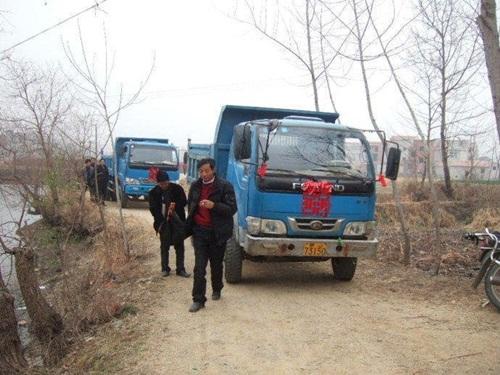 Của hồi môn chất đầy 5 xe tải khiến dân mạng ghen tỵ đỏ mắt - 1