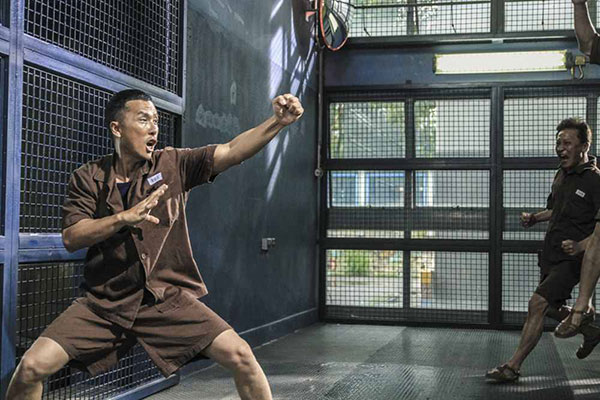 Màn đấu võ nghẹt thở của Chân Tử Đan trong Kungfu Jungle - 3