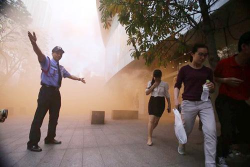 Kịch bản cháy nổ kịch tính ở toà nhà cao nhất Sài Gòn - 4