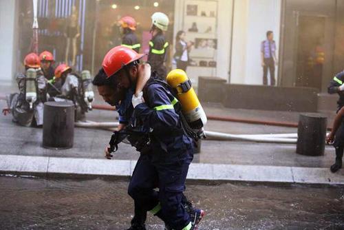 Kịch bản cháy nổ kịch tính ở toà nhà cao nhất Sài Gòn - 13