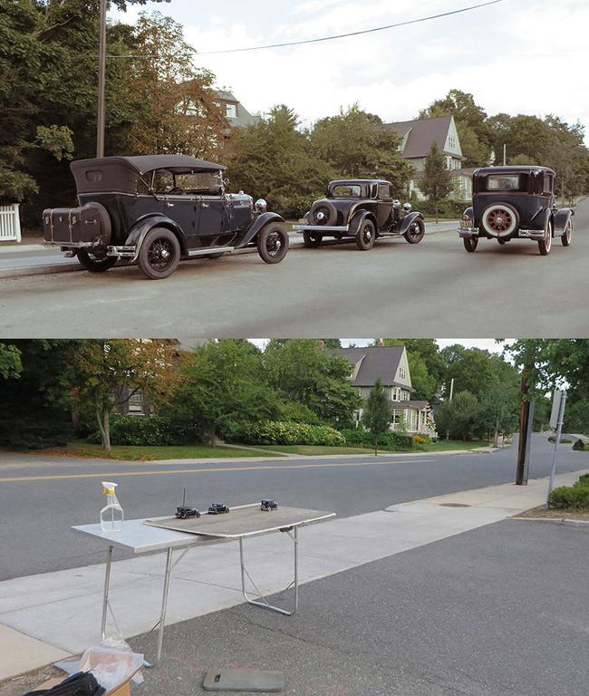 Bức ảnh từ những chiếc xe... mô hình.