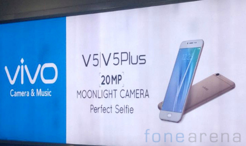 Vivo V5 và V5 Plus chính thức lộ diện với camera selfie 20MP - 4