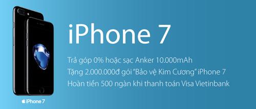 Trên tay iPhone 7/ 7plus đen nhám chính hãng tại Viễn Thông A - 6