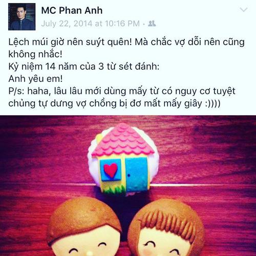 11 năm yêu, vợ chồng Phan Anh vẫn ngọt ngào như thuở còn son - 2