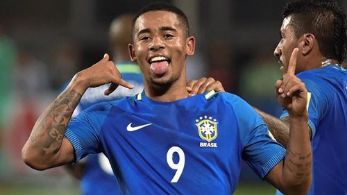 "Brazil, G.Jesus: Nối gót Ro ""béo"" rực sáng tuổi 19 - 1"