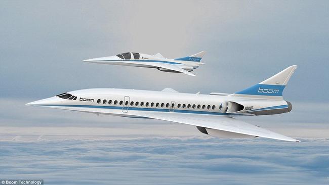 Máy bay chở khách tốc độ gấp đôi âm thanh ra mắt - 1