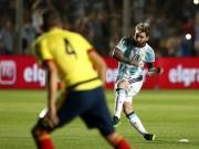 Bóng đá - Argentina thắng lớn, Messi khiến báo chí bàng hoàng