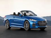 """Tin tức ô tô - """"Không thể rời mắt"""" với thiết kế Hyundai Elantra Cabriolet"""