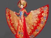 Thời trang - Mỹ nữ thi Hoa hậu châu Á khoe áo dài chim công lộng lẫy