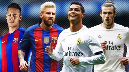 Cầu thủ hay nhất năm: Neymar gần Messi, CR7 ngang Bale - 1