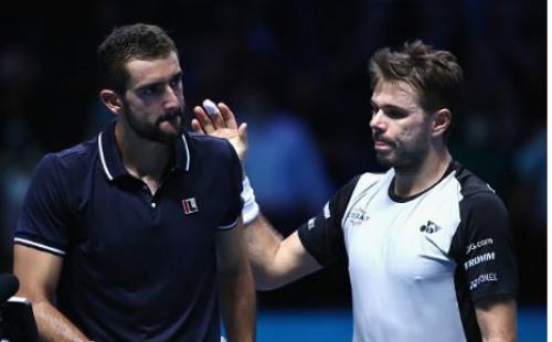 Wawrinka – Cilic: So bản lĩnh 2 loạt đấu súng (ATP Finals) - 1