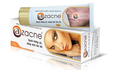 Sạch mụn trứng cá chỉ sau 20 ngày dùng Azacné - 2