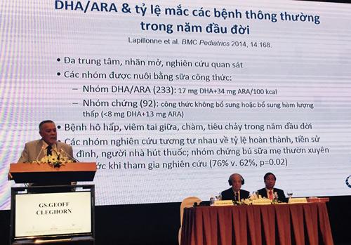 Cập nhật kết quả nghiên cứu mới nhất về DHA/ARA tại Hội nghị khoa học Nhi Khoa - 1