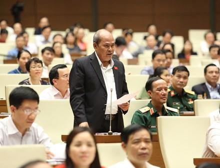 Bộ trưởng Bộ Nội vụ chưa trả lời câu hỏi về vụ Trịnh Xuân Thanh - 1