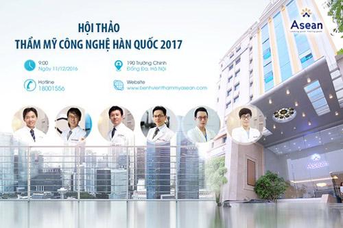 Hội thảo thẩm mỹ công nghệ Hàn Quốc 2017- Sự kiện sắc đẹp không thể bỏ lỡ! - 1