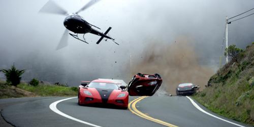 """Cảnh rượt đuổi ô tô """"đặc sản"""" trong phim Hollywood - 6"""