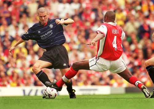 """MU - Arsenal: """"Đặc sản"""" một thời Roy Keane chiến Vieira - 1"""
