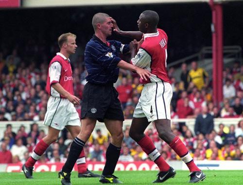 """MU - Arsenal: """"Đặc sản"""" một thời Roy Keane chiến Vieira - 2"""