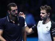 Thể thao - Wawrinka – Cilic: So bản lĩnh 2 loạt đấu súng (ATP Finals)