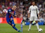 Bóng đá - Đọ tài đá phạt Messi - Ronaldo: Hơn nhau chỉ 1%