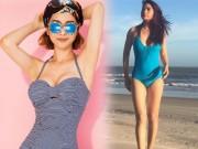 Thời trang - Mỹ nhân U40, U50 diện bikini nuột nà hơn gái 20