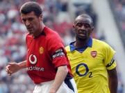 """Bóng đá - MU - Arsenal: """"Đặc sản"""" một thời Roy Keane chiến Vieira"""