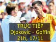 Chi tiết Djokovic – Goffin: Thế trận thuận lợi (KT)