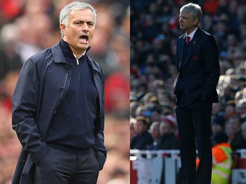 Wenger chế giễu MU, thách Mourinho chơi đôi công - 1