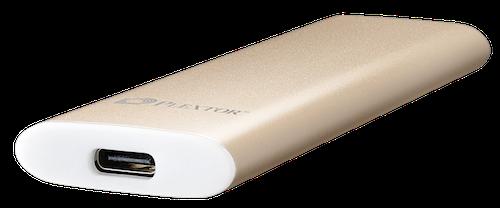 Ổ SSD gắn ngoài dạng thanh như chiếc bánh, tốc độ 550MB/s - 1