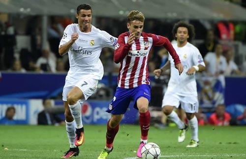 Derby Madrid: Griezmann đang hay hơn Ronaldo - 1