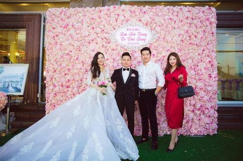 Dàn siêu xe 50 tỷ trong lễ cưới người đẹp và đại gia Hạ Long - 11