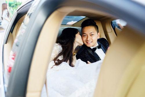Dàn siêu xe 50 tỷ trong lễ cưới người đẹp và đại gia Hạ Long - 2