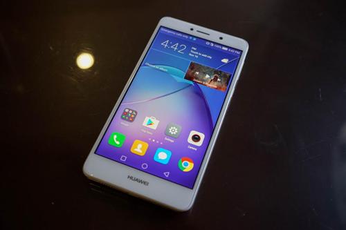 Lộ ảnh Huawei GR5 2017, camera kép mặt sau - 1
