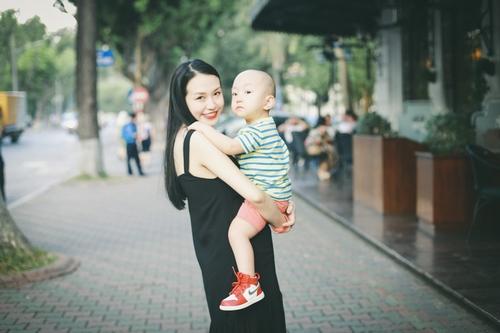 Bà xã Tuấn Hưng bầu 6 tháng đẹp hơn thời con gái - 2
